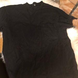 VGC Uniqlo heavy fabric cotton T men's SZ M!!